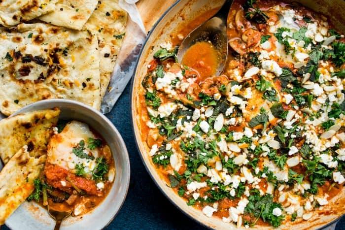 Easy Eggs Poached in Tomato (Shakshuka) Recipe