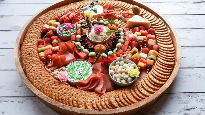 Beautiful Epic Spring Charcuterie Board