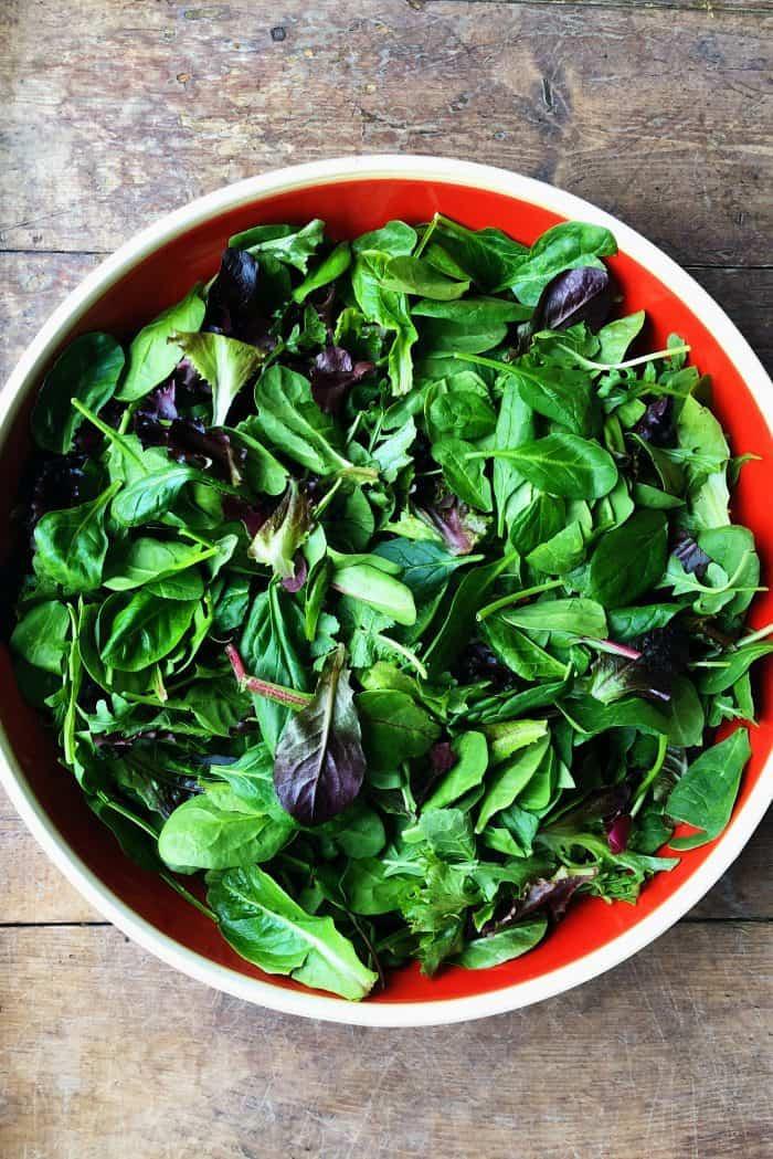 Mandarin Mixed Green Salad Recipe - lettuce