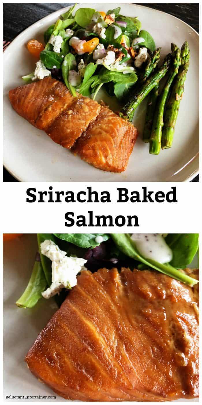 Easy Sriracha Baked Salmon Recipe