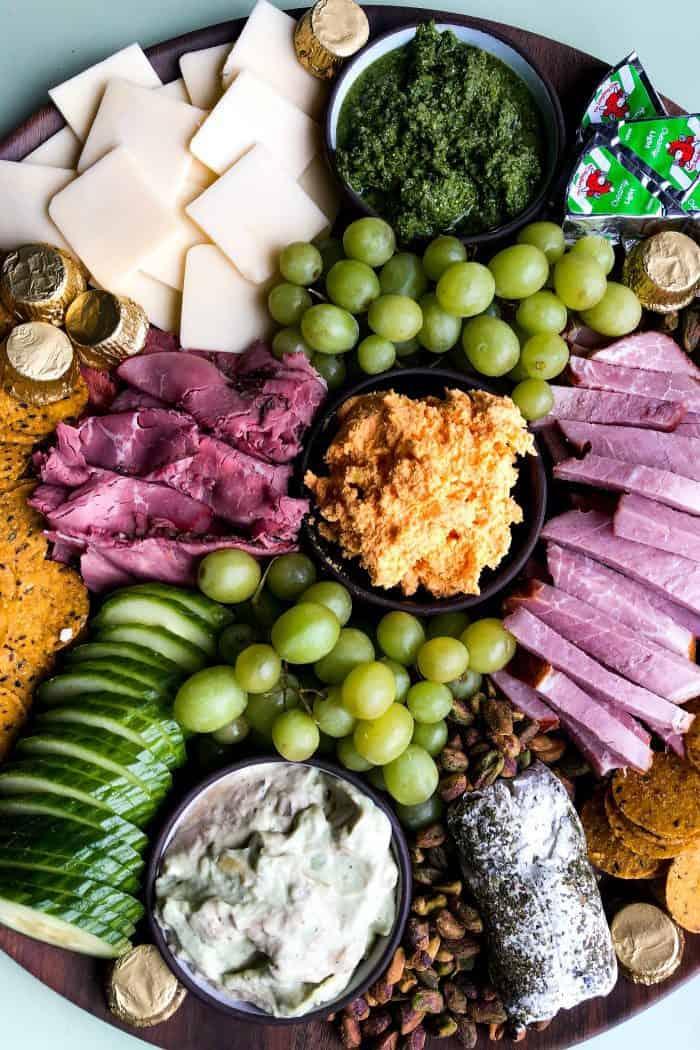 Easy St. Patrick's Day Snack Board Recipe
