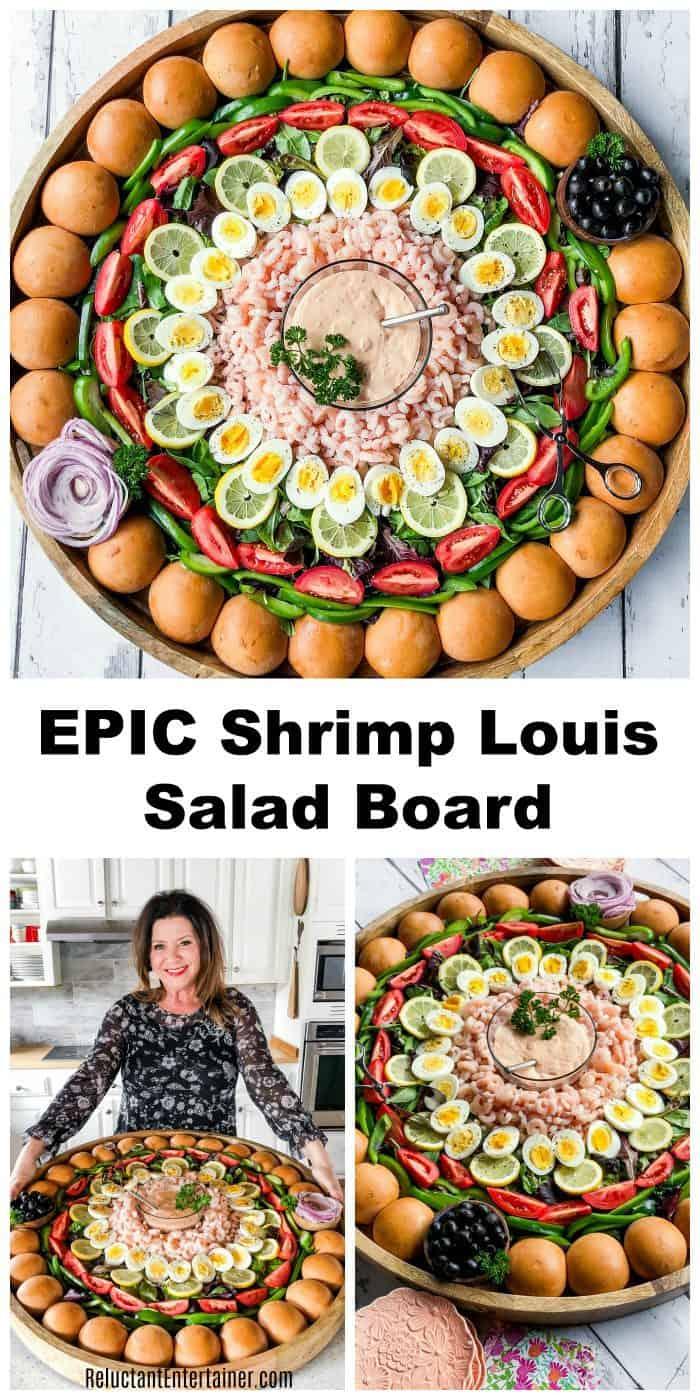 EPIC Shrimp Louis Salad Board Recipe