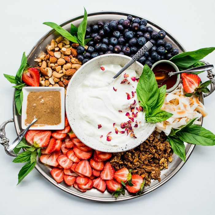 Fruit Yogurt Platter
