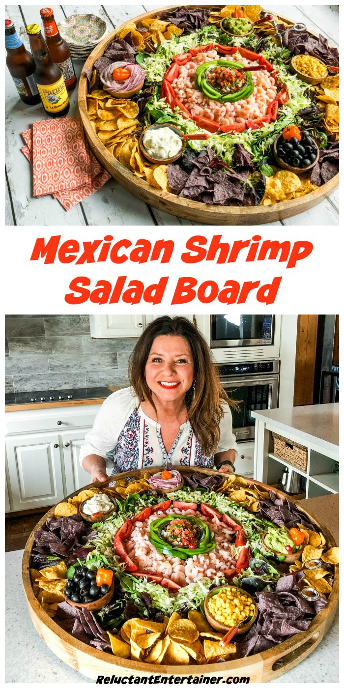 Mexican Shrimp Salad Board Recipe