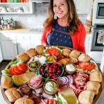 Epic Sandwich Charcuterie Board Reluctant Entertainer