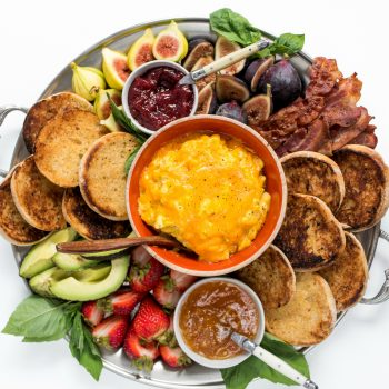 English Muffin Breakfast Board