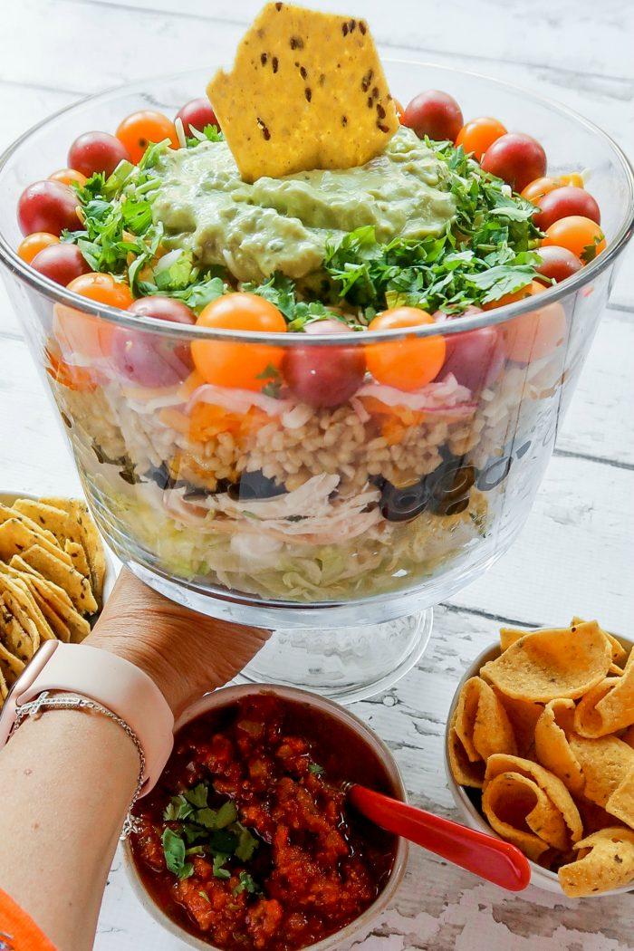 Chicken Layered Salad