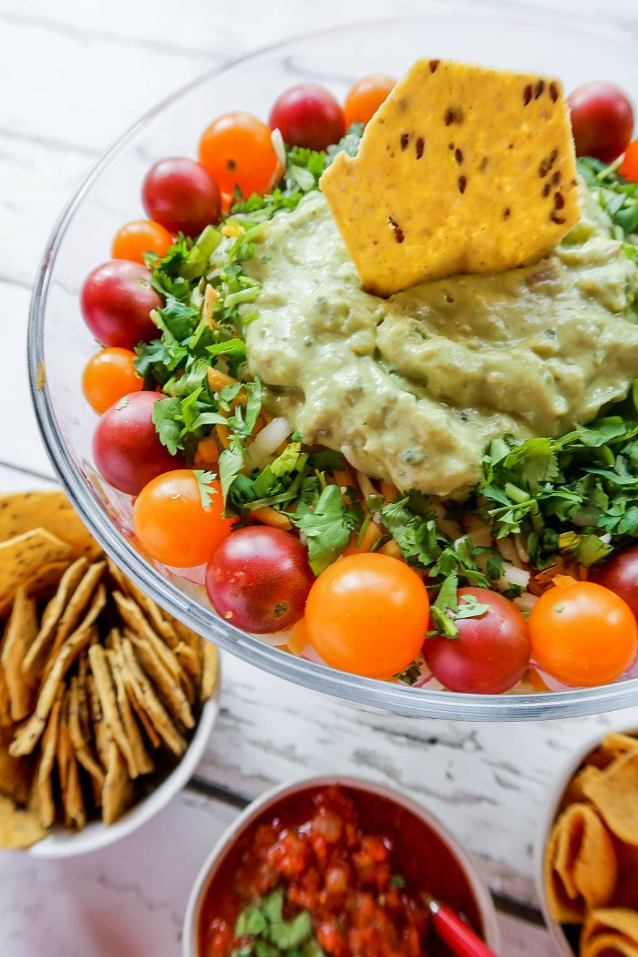 Chicken Layered Salad Recipe