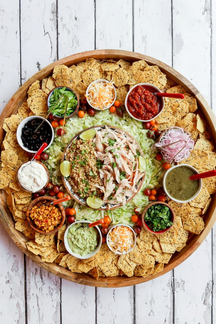 BEST Chicken Taco Bowl Board