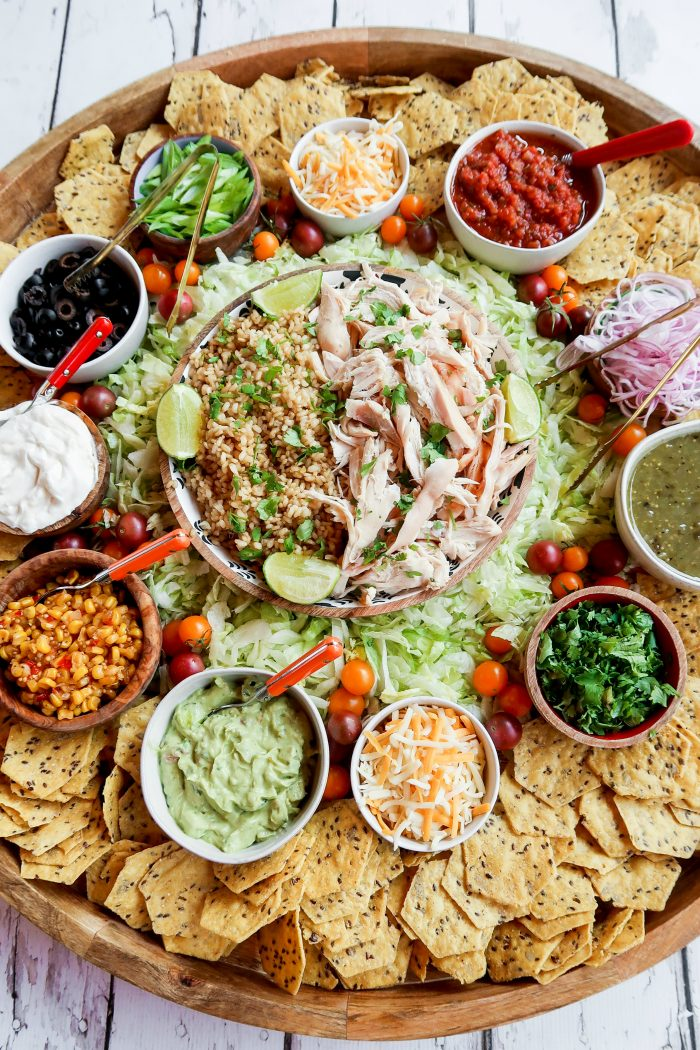 Tasty Chicken Taco Bowl Board