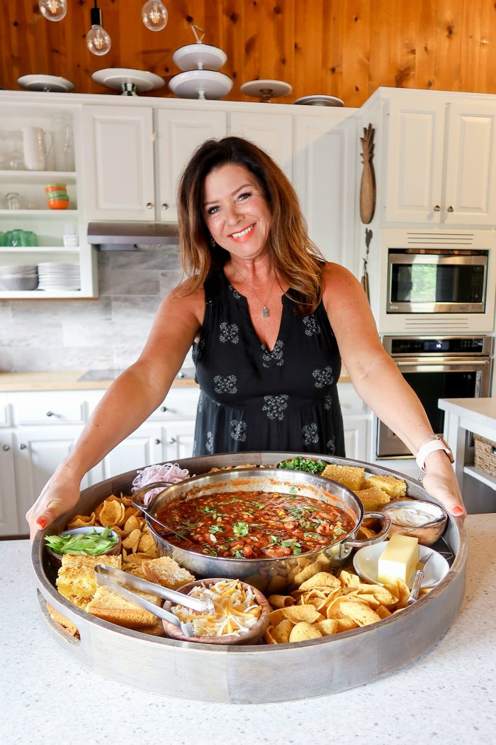 Best EPIC Chili Dinner Board