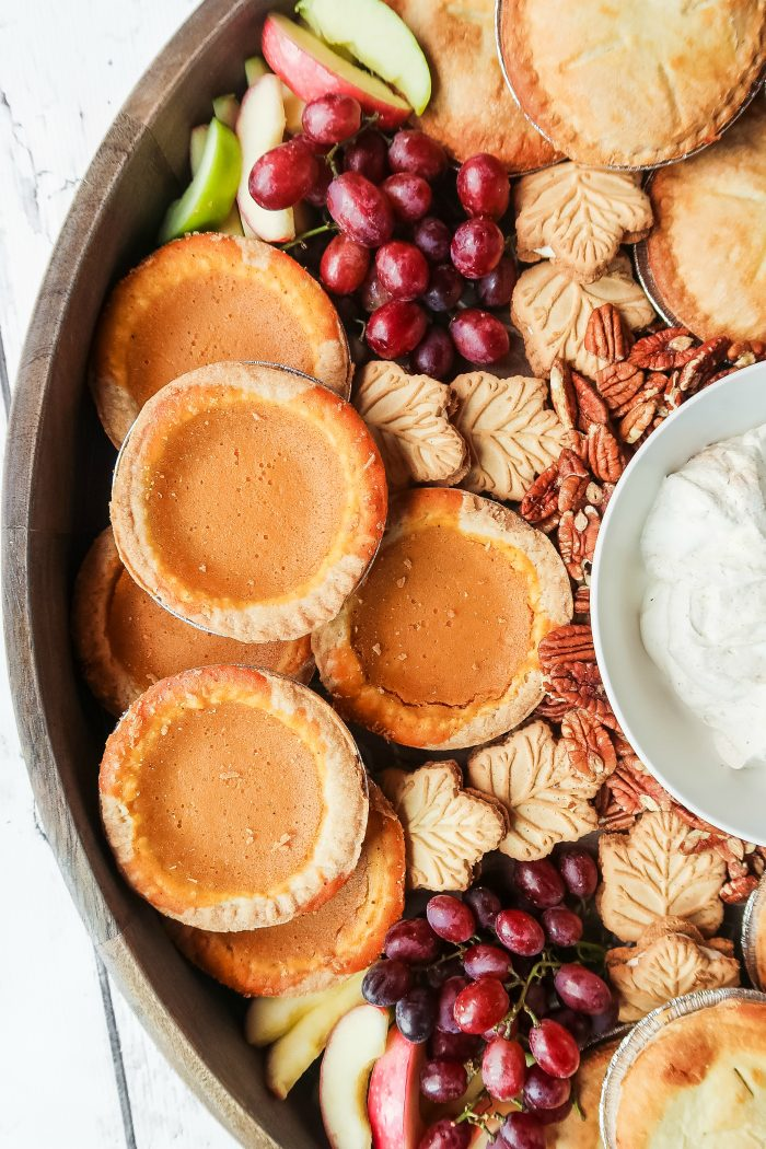 Mini Pie Dessert Board