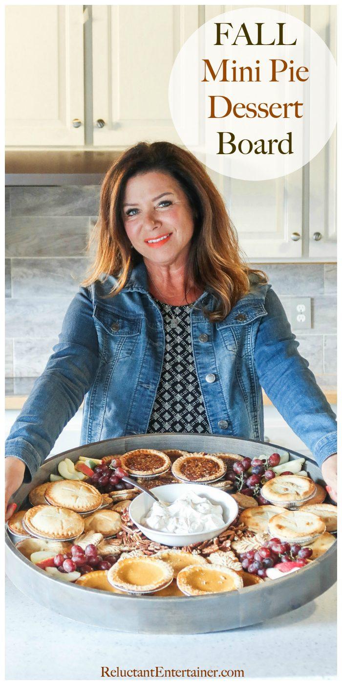 Fall Mini Pie Dessert Board Recipe