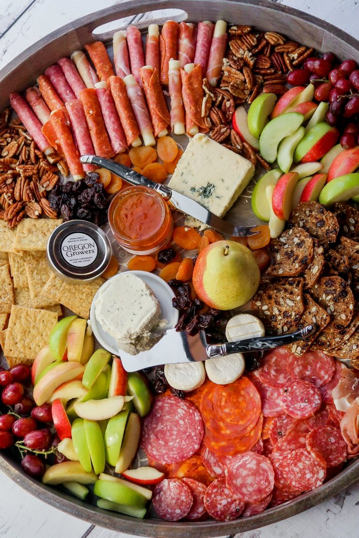 How to make a Fall Cheese Board with oregon growers jame
