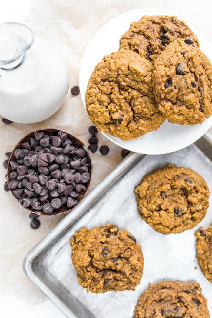 Moist Pumpkin Peanut Butter Cookies