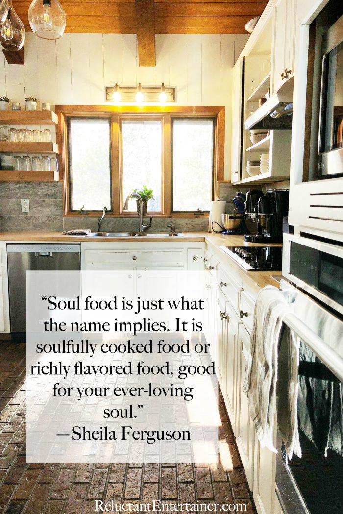 Soul Food QUOTE