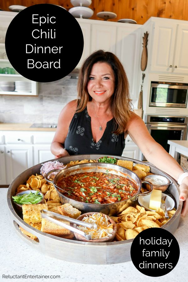 epic holiday chili dinner