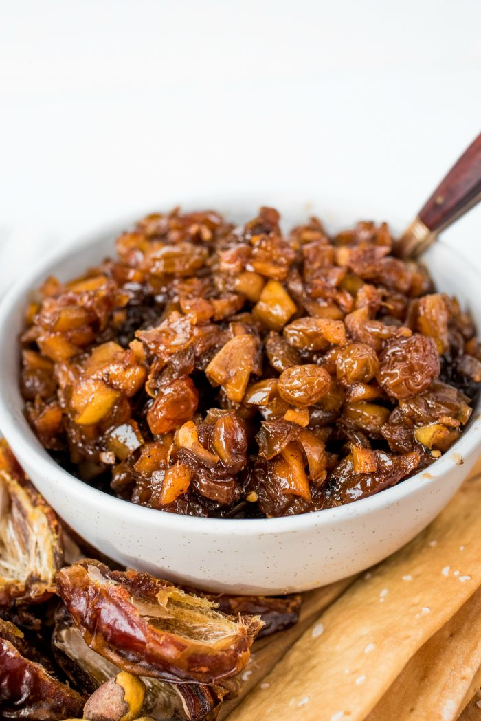 Apple Raisin Chutney Recipe
