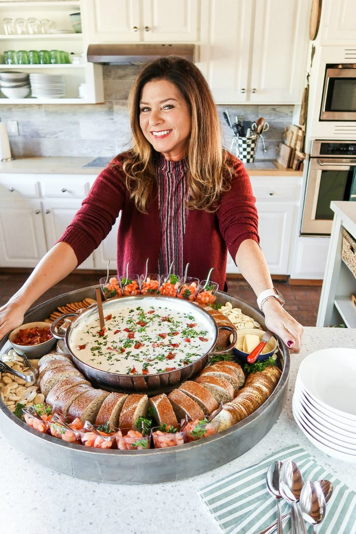 Epic Clam Chowder Dinner Board