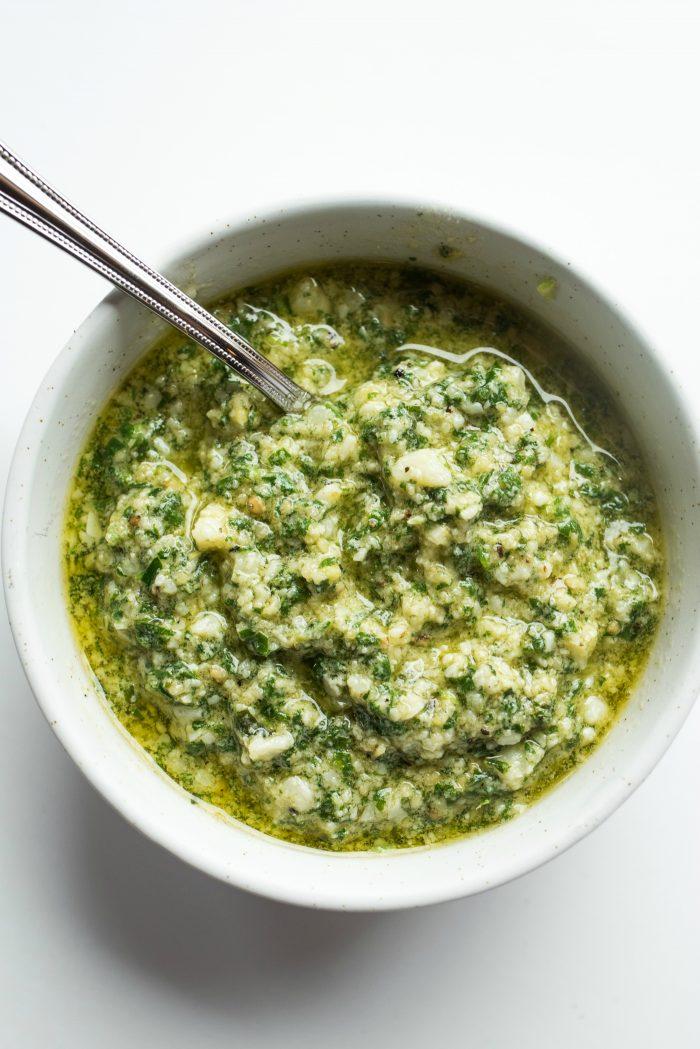 Basil Tarragon Pesto Recipe