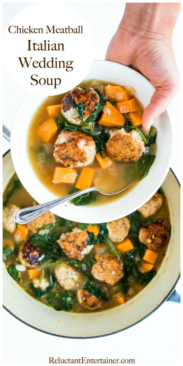 Chicken Meatball Italian Wedding Soup