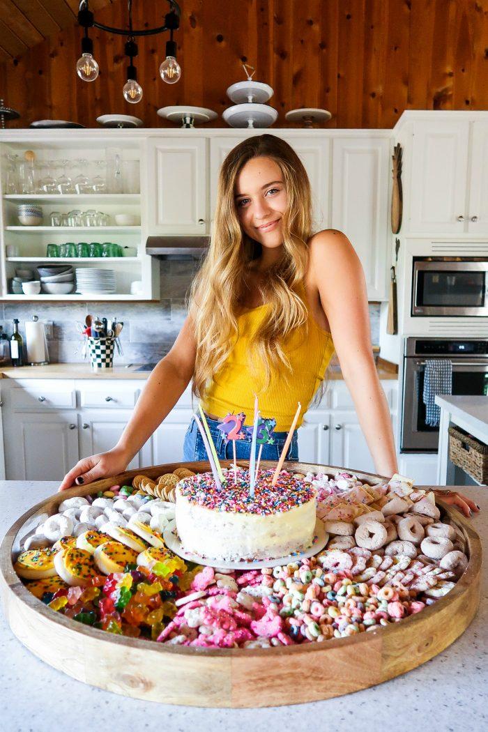BEST FUNFETTI® Inspired Cake Board