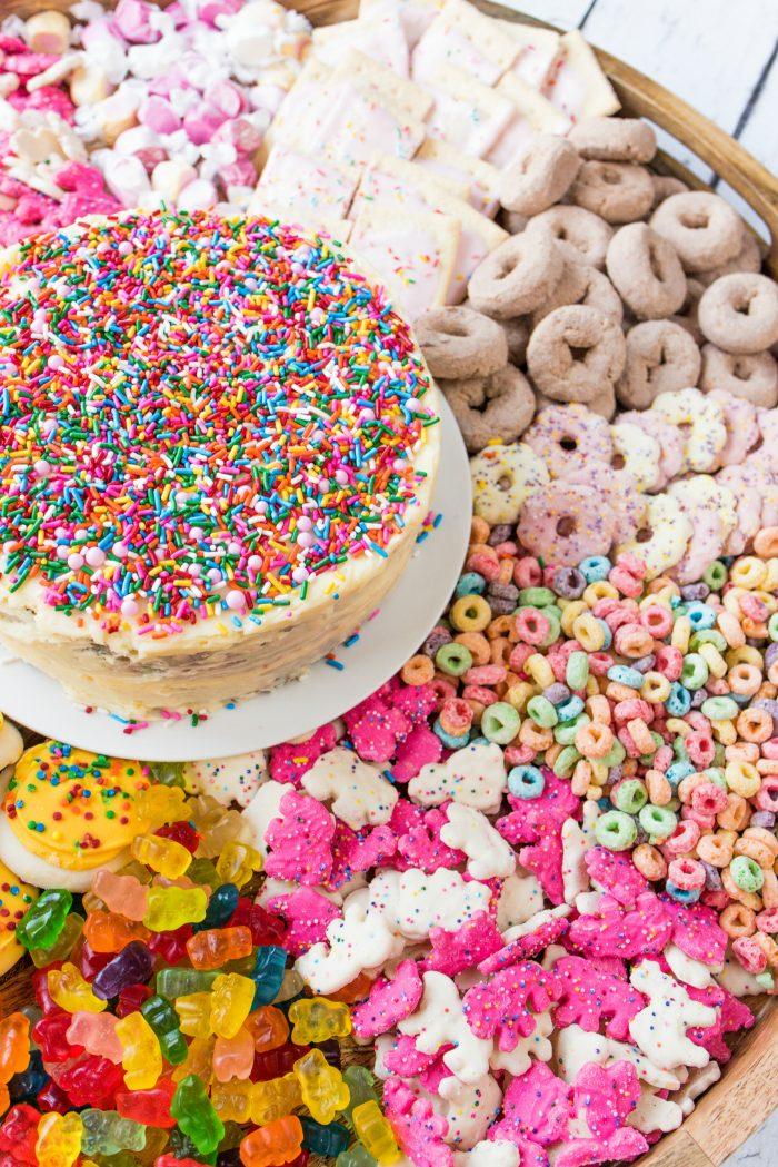 Confetti Cake Board