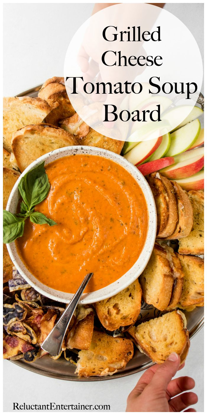 Grilled Cheese Tomato Soup Board Recipe