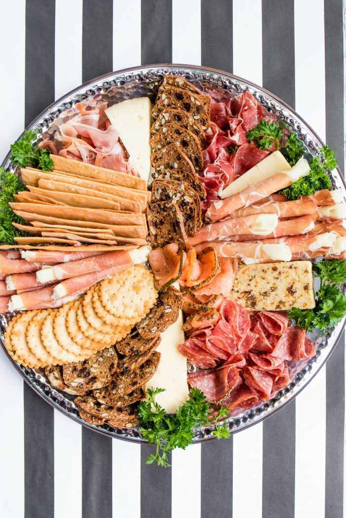 Meat Cheese Charcuterie Board Appetizers