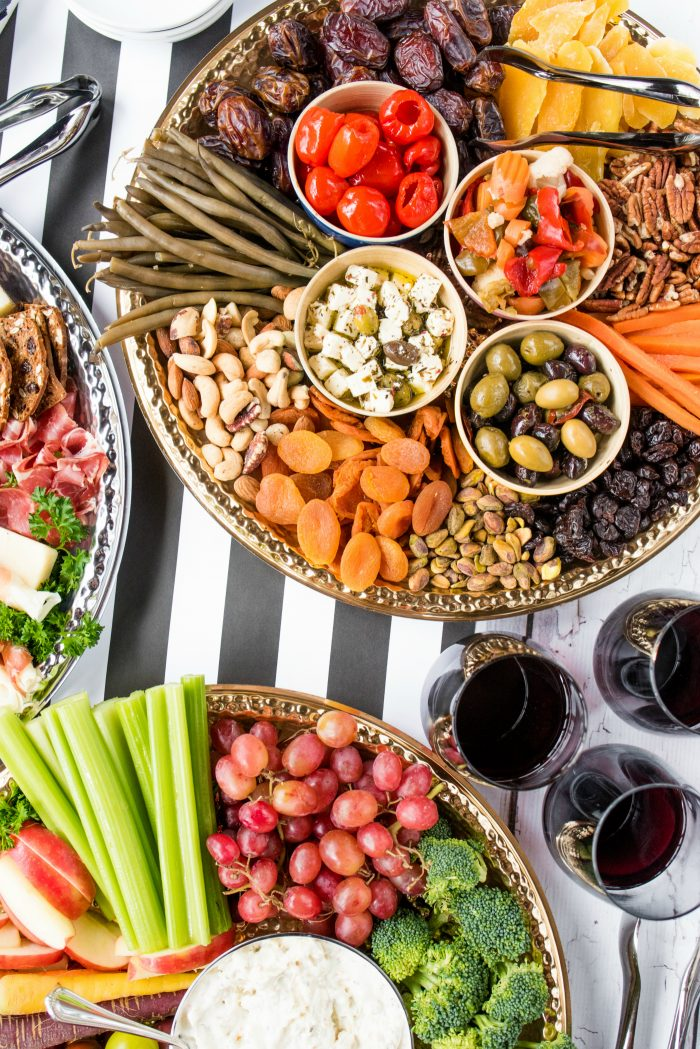 Tasty Holiday Charcuterie Board Appetizers
