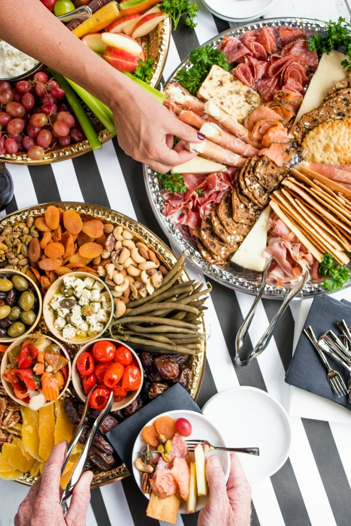 Easy Holiday Charcuterie Board Appetizers