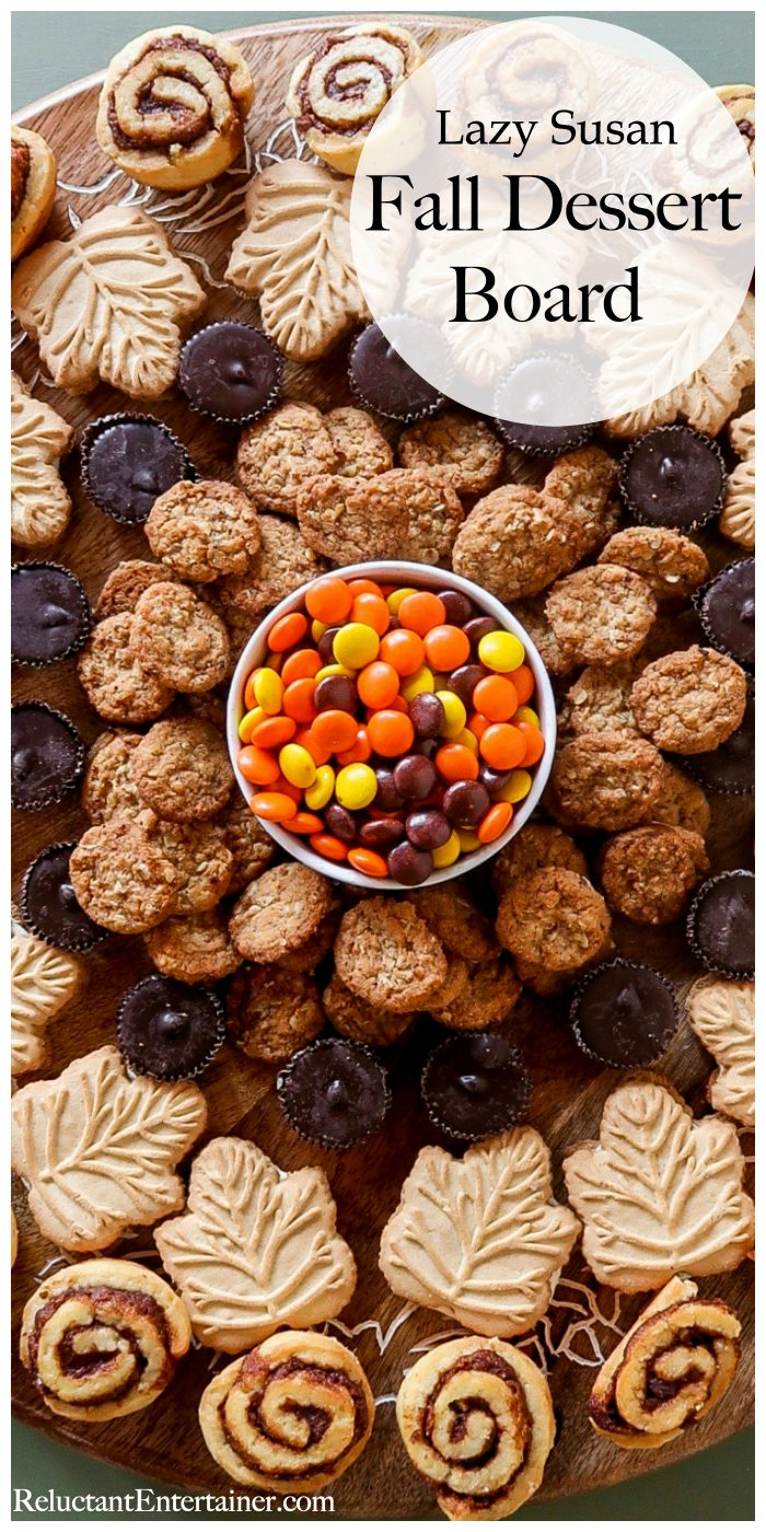 Lazy Susan Fall Dessert Board Recipe