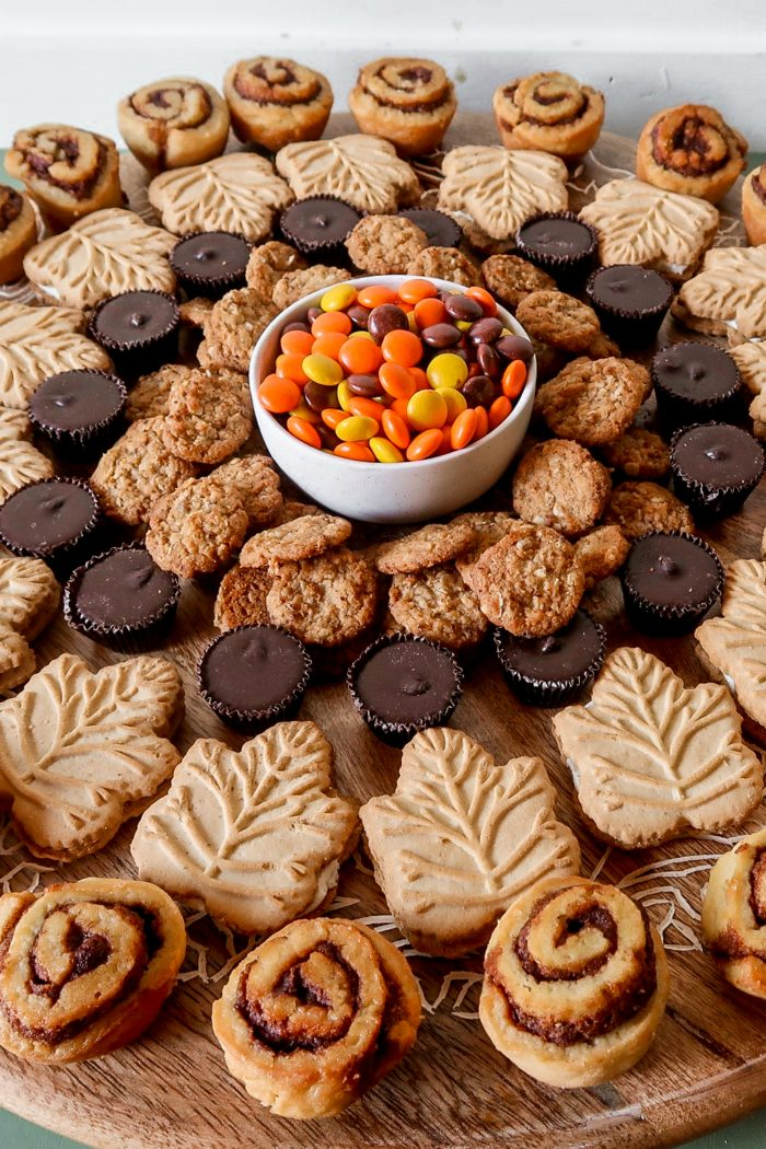 Autumn Lazy Susan Dessert Board