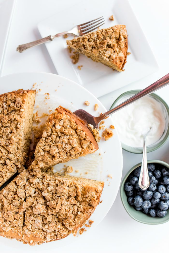 Easy Pear Coffee Cake Recipe