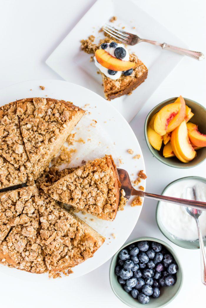 Pear Coffee Cake Recipe
