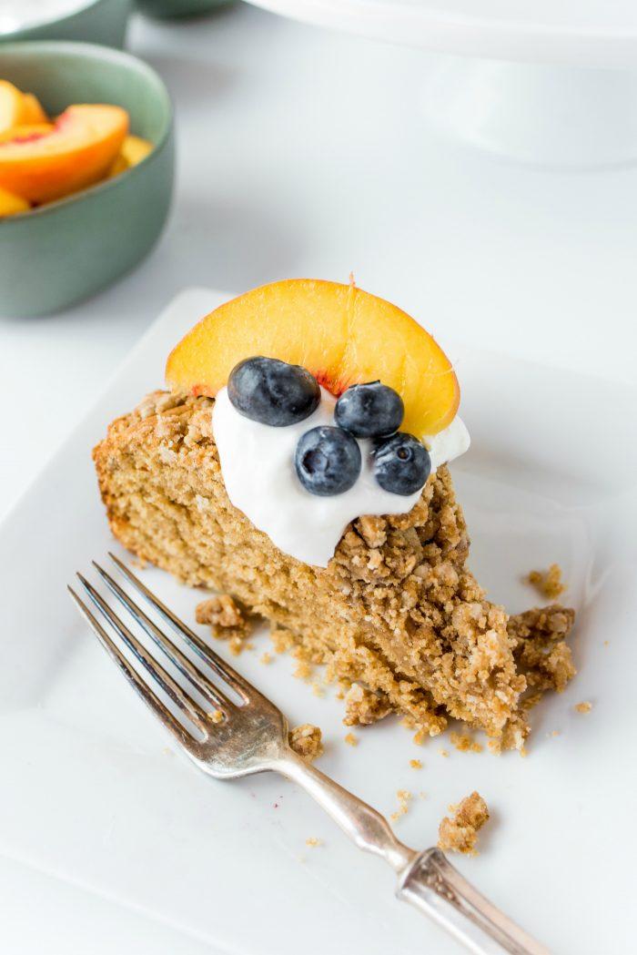 Tasty Pear Coffee Cake Recipe