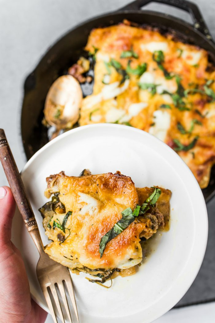 Best Skillet Lamb Pumpkin Lasagna Recipe