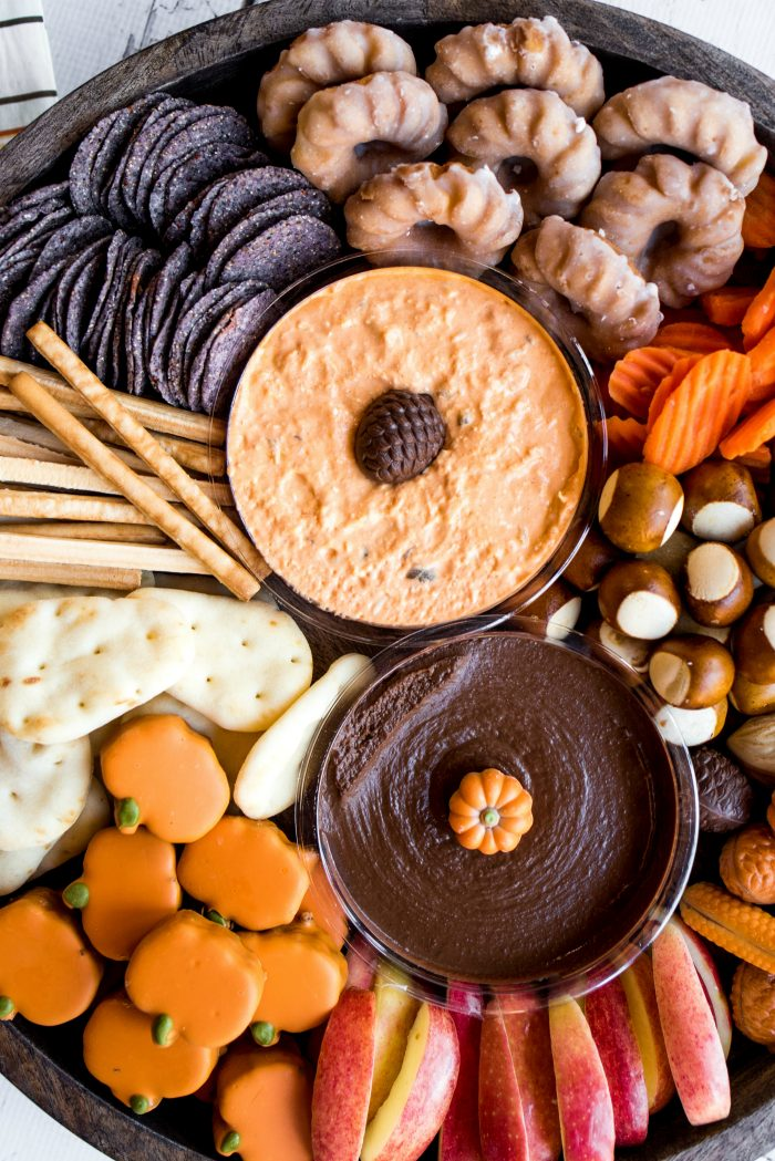DELISH Sweet and Savory Harvest Snack Board