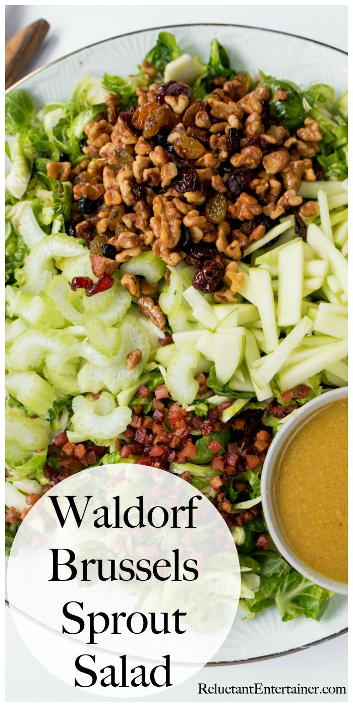 Waldorf Brussels Sprout Salad Recipe
