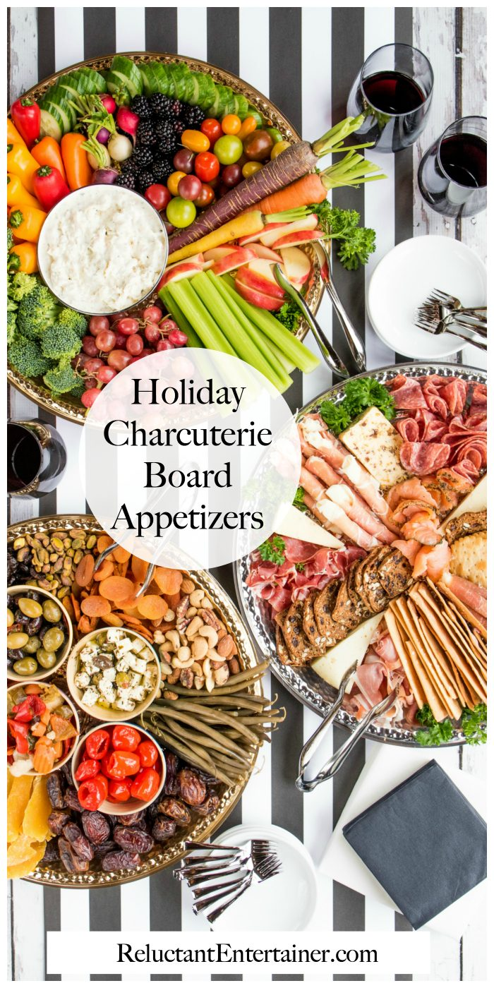 Holiday Charcuterie Board Appetizers Recipe
