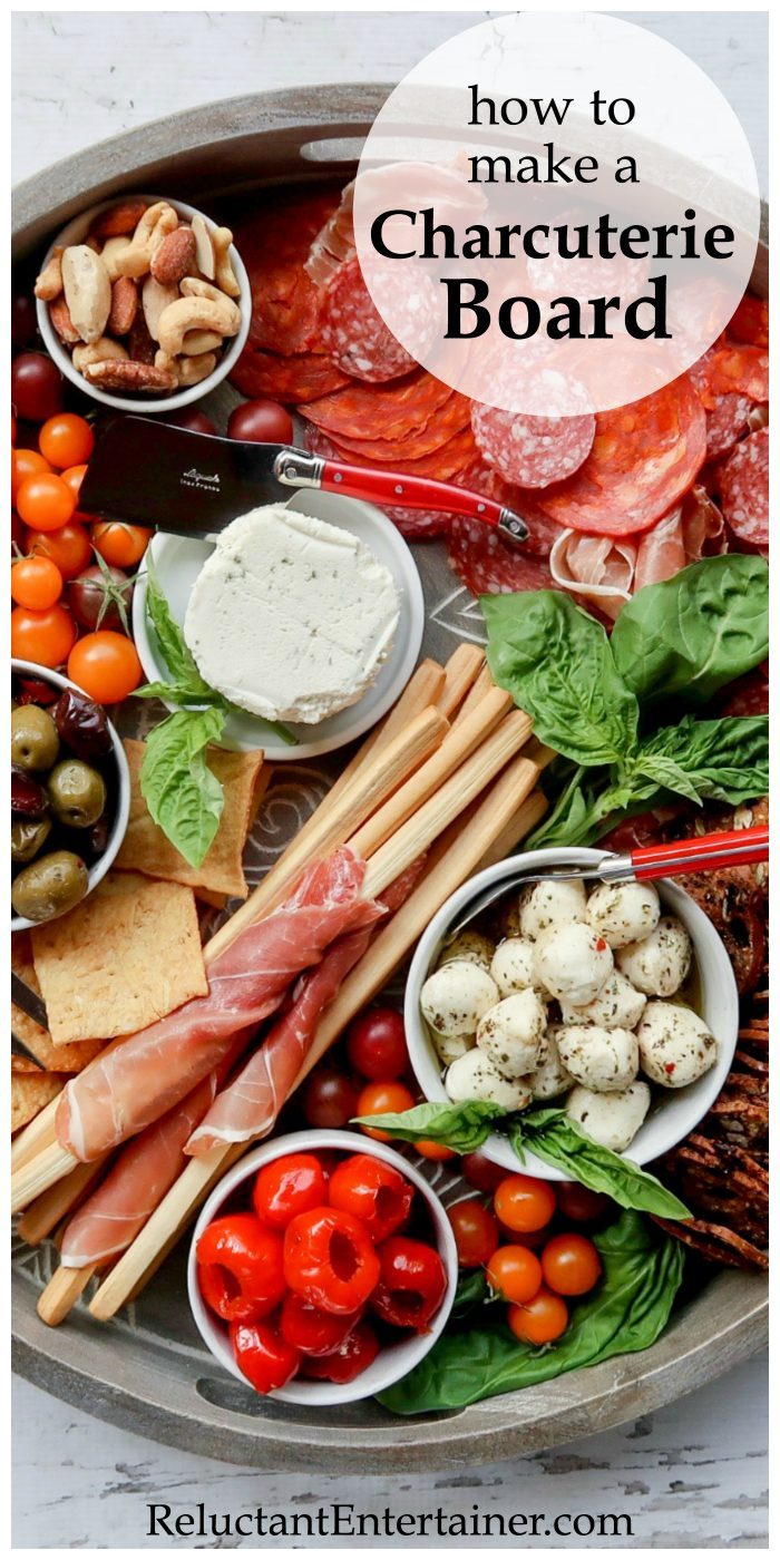 How to make a Charcuterie Board recipe
