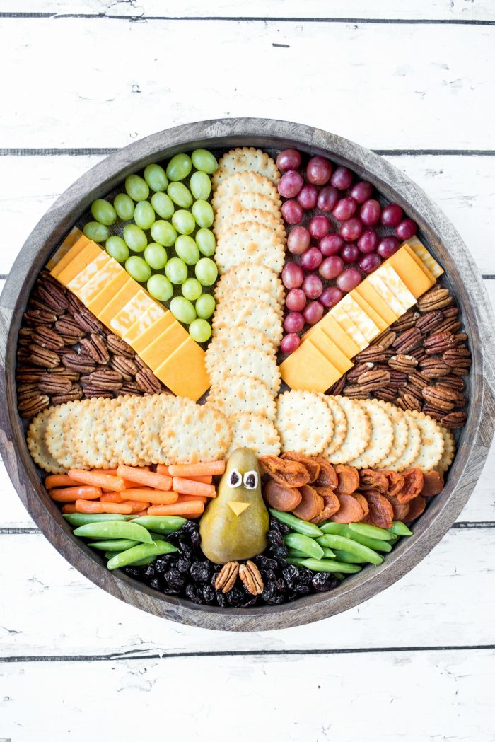 BEST Thanksgiving Turkey Board by The Baker Mama