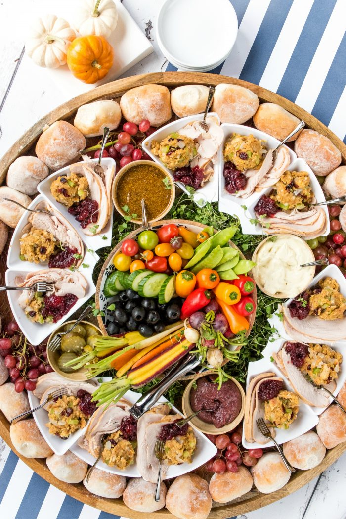 Epic Friendsgiving DINNER Board