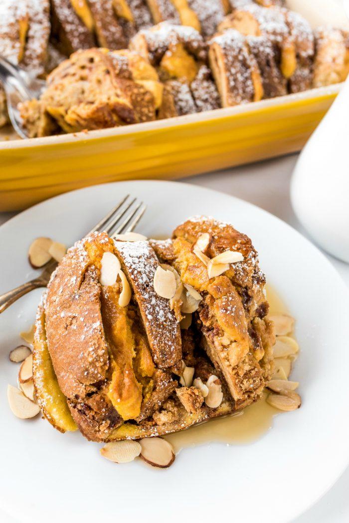 BEST Pumpkin French Toast