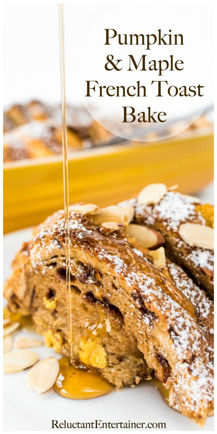 Pumpkin Maple French Toast Bake Recipe