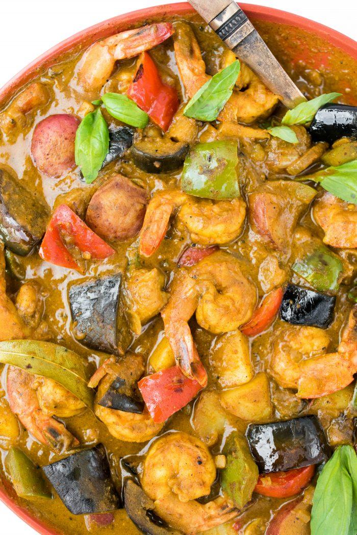 BEST Pumpkin Shrimp Curry Recipe
