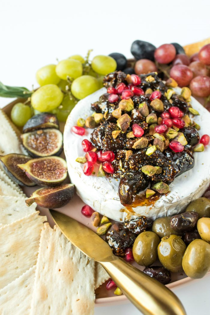 Tasty Vanilla Fig Bourbon Brie