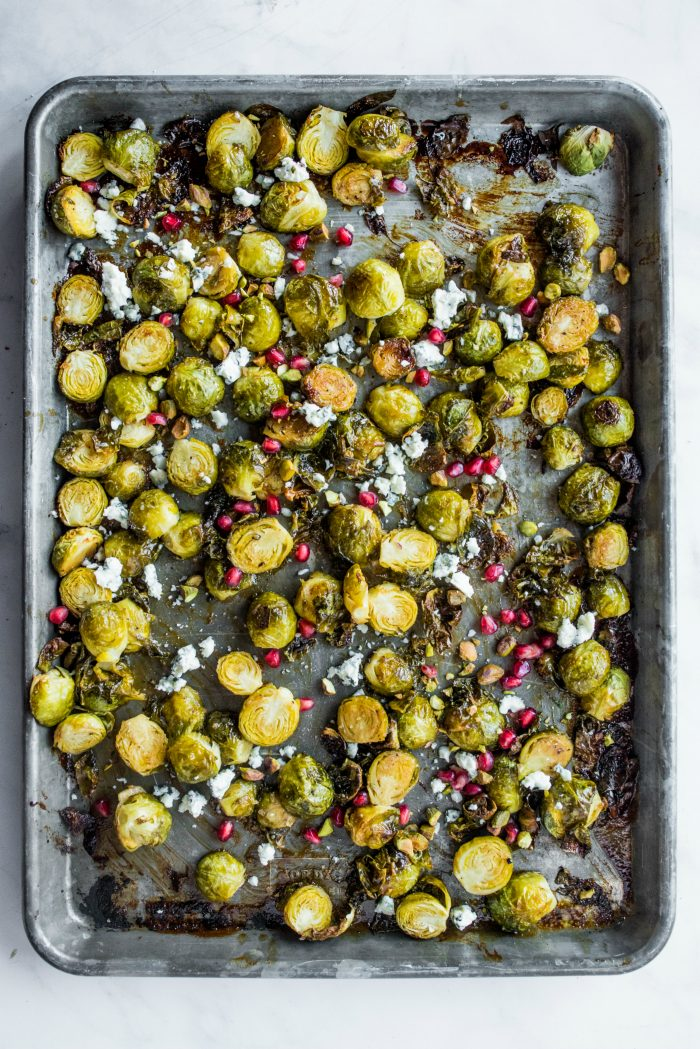 Brussels Sprouts with Honey Mustard Glaze