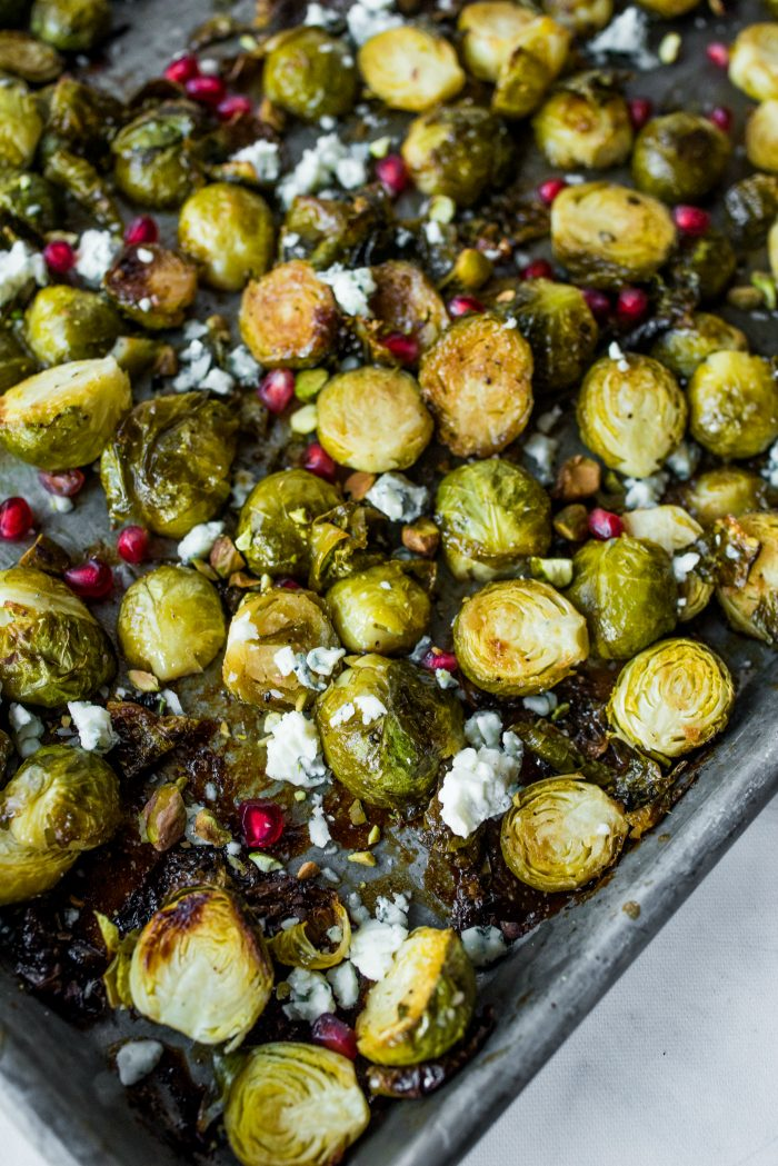 Best Brussels Sprouts with Honey Mustard Glaze