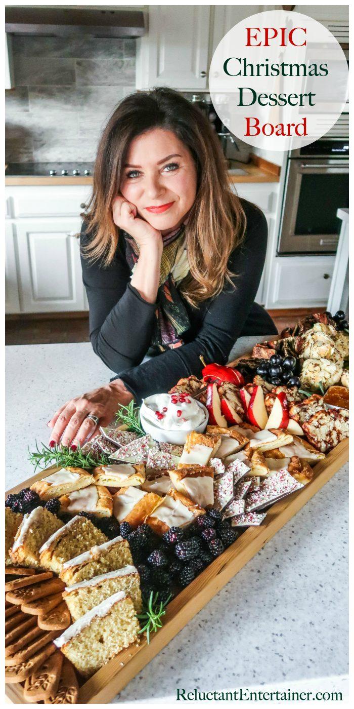 EPIC Christmas Dessert Board Recipe